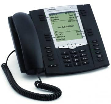 Mitel 6737 SIP phone graphical backlit LCD display