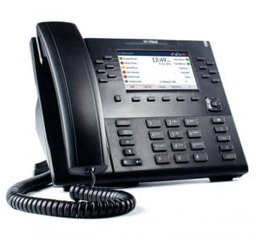 "Mitel 6869 SIP phone with 4,3"""" color backlit LCD display"
