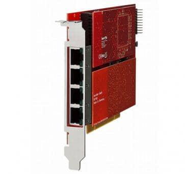 beroNet BF64004E1e beroNet Gateway PCIe BNBF6400 + 2x BNBF2E3