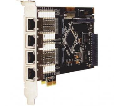 Digium TE820F octal Span T1/E1/J1 8xPRI card PCIe