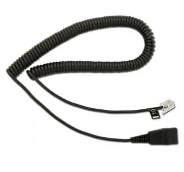 freeVoice FCF cord with FCC 4/4 plug and QD 8800-01-37-FRV