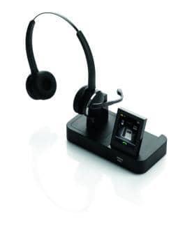 Jabra PRO 9465 DECT Headset Duo USB Bluetooth NC 9465-29-804-101