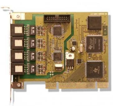 Gerdes PrimuX 4S0 ISDN Server-Controller, max. 4 basic conectors 2104