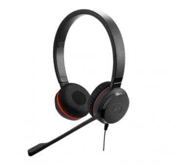 Jabra Evolve 30 II MS Duo Headset USB 3.5mm jack 5399-823-30