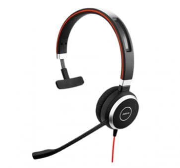Jabra Evolve 40 UC Mono Headset 6393-829-209