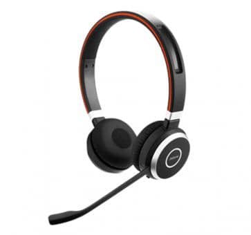 Jabra Evolve 65 MS Duo Bluetooth Headset 6599-823-309