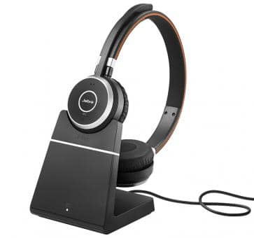 Jabra Evolve 65 UC Duo NC USB incl. Charging stand 6599-823-