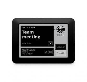 JOAN Visual Communication Executive 6 inch E-Link Room Manag