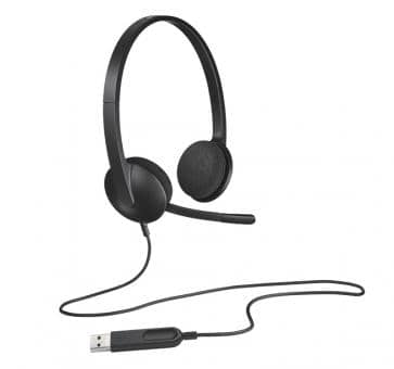 Logitech H340 USB Headset Duo 981-000475