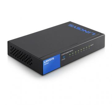 LINKSYS LGS108 8x 10/100/1000Mbps Gigabit Switch