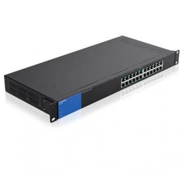 LINKSYS LGS124P 24x 10/100/1000Mbps thereof 12x PoE+ Gigabit