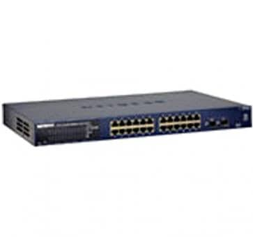 NETGEAR GS724T 24x10/100/1000 Smart Managed Gigabit Switch mit 2 SFP GBIC
