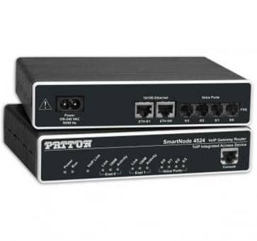 Patton SmartNode 4522 2x FXO VoIP Gateway Router SN4522/JO/E