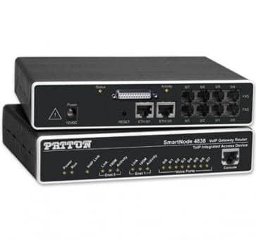 Patton Inalp SmartNode 4830 Series / SN4838/JSC/EUI