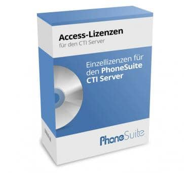 PhoneSuite Access-Lizenzen for the CTI Server