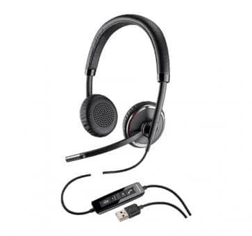 PlantrPlantronics Blackwire C520-M Stereo USB Headset 88861-02