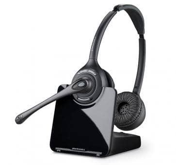 Plantronics CS520 DUO DECT Headset 84692-02