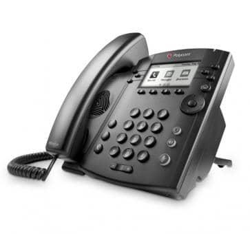 Polycom VVX310 IP phone PoE (no PSU) 2200-46161-025