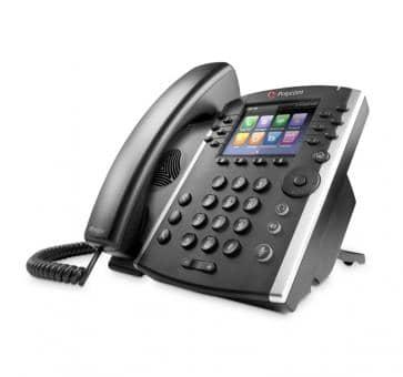 Polycom VVX410 Gigabit Desktop Phone 2200-46162-025