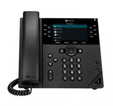 Polycom VVX 450 IP phone PoE (without PSU) 2200-48840-025 | VOIPANGO