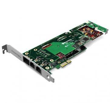 Sangoma B710001DE 2 Ports BRI + 2 Ports FXO PCIe + HW EC