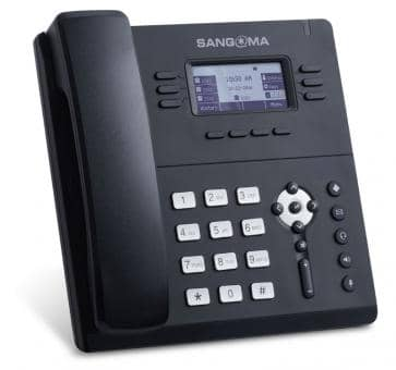 Sangoma S406 IP phone SIP PoE Gigabit