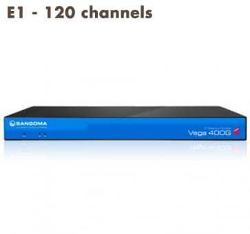 Sangoma Vega 400 Gateway E1 - 120 channels