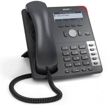 snom 710 IP telefoon - essentiële functionaliteit