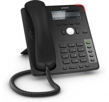 snom D710 IP telefoon - essentiële functionaliteit