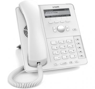 SNOM D715 IP phone PoE white (without PSU)