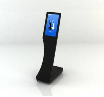 SWEDX Signo Mini-Stele SWSS156-A2 Digital Signage 15,6 inch black