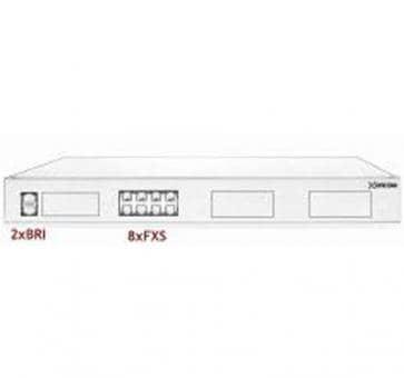 Xorcom Astribank - 2 BRI + 8 FXS - XR0033 - 1U