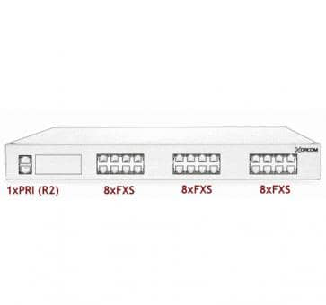 Xorcom Astribank - 1 PRI + 24 FXS - XR0050