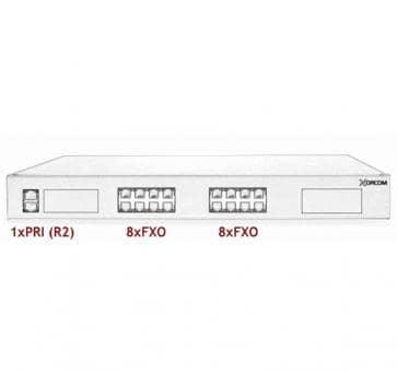 Xorcom Astribank - 1 PRI + 16 FXO - XR0070