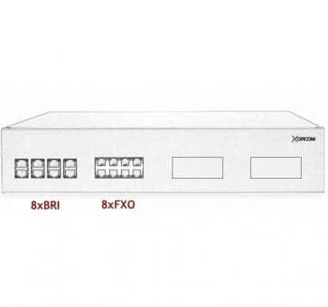Xorcom IP PBX - 8 BRI + 8 FXO - XR2099
