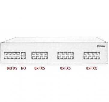 Xorcom IP PBX - 24 FXS + 8 FXO - XR3009