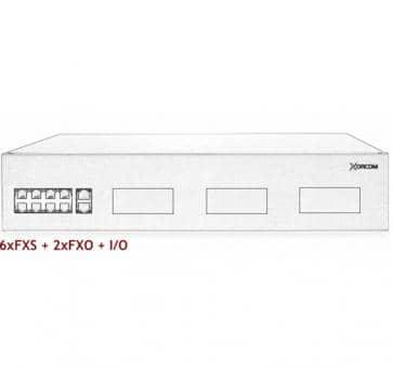 Xorcom IP PBX - 6 FXS + 2 FXO - XR3030