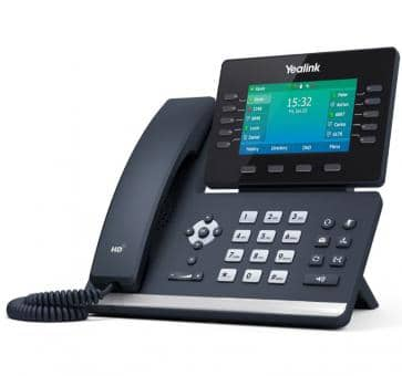 Yealink T54W WiFi SIP IP phone (without PSU)