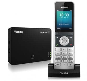 Yealink W56P SIP IP DECT phone with handset