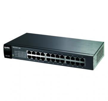 ZyXEL GS1100-24E 24-Port Gigabit Unmanaged Switch